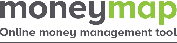 moneymap online money management tool logo text