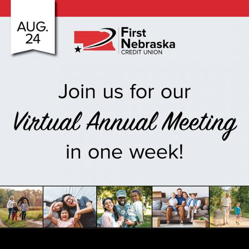 Virtual Annual Meeting in a week